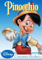 Poster for Disney Pinocchio