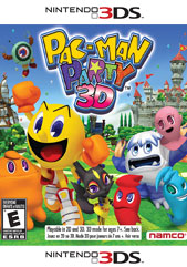 Poster for Pac-Man Party 3D